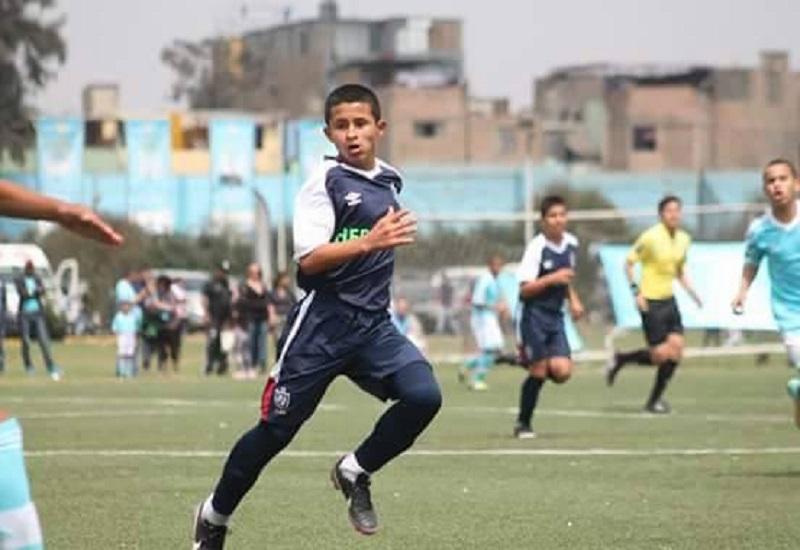Osama Vinladen Jimenez Lopez, pemain Peru Under-15. (Foto: Dok. Pribadi/Istimewa/Facebook)