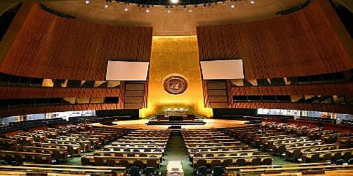 Balai Perserikatan Bangsa-Bangsa di New York City. (Foto: Patrick Gruban via Wikimedia Commons)