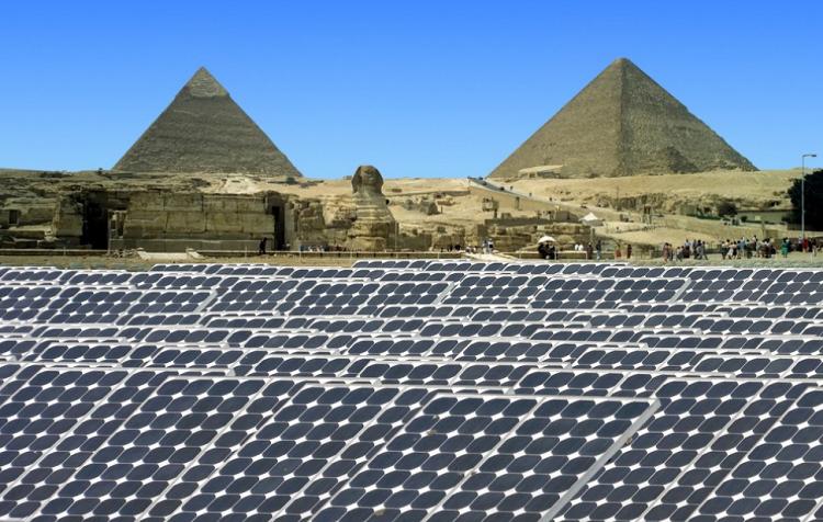Panel Surya di Mesir/Foto Croup/Istimewa/Nusantaranews