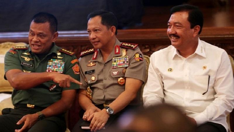 Panglima TNI, Kapolri dan KBIN