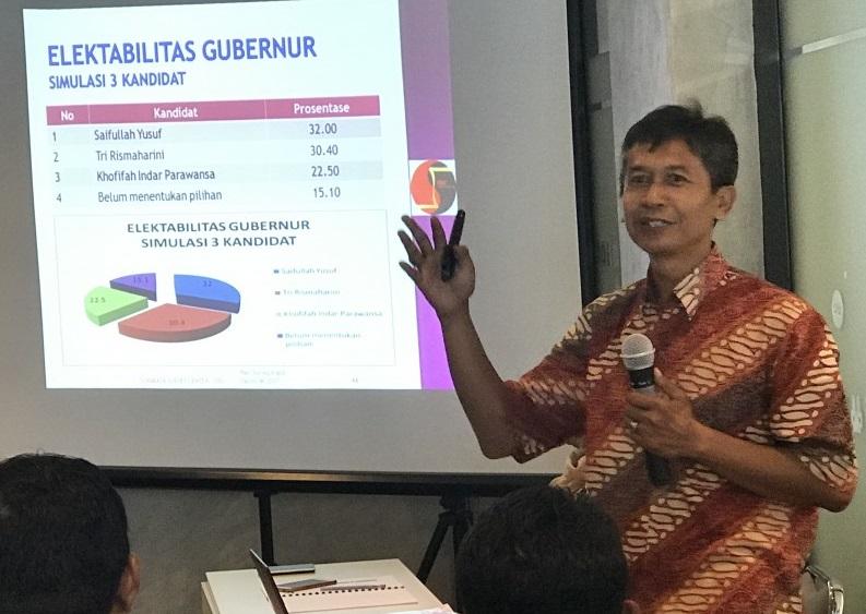 Pengamat Politik Universitas Yudharta Pasuruan Mohammad Edy Marzuki/Foto Yudi/Nusantaranews