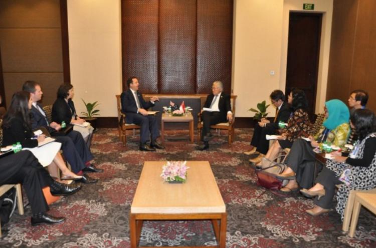 Pertemuan RI-Australia/Foto via metrotvnews/Nusantaranews