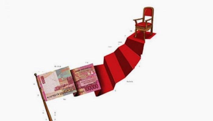 Politik Uang (Ilustrasi). Foto: Dok: seruu