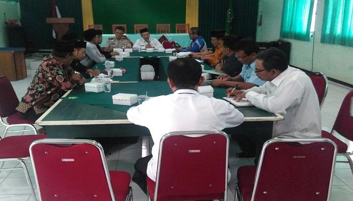 Kemenag Kota Madiun menggelar Rapat Koordinasi Paham Keagamaan. (Foto: Istimewa/MC/NusantaraNews)