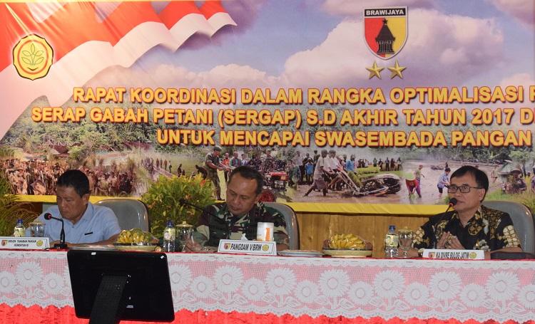 Rapat Koordinasi Sergap 2017 di Madiun (Foto Rantelino/Nusantaranews)