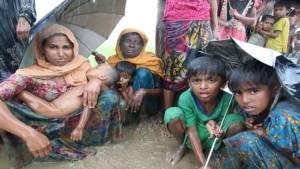 Etnis Rohingya harus meninggalkan Rakhine, kampung halamannya di Myanmar yang sudah ditempati selama beberapa generasi. (Getty Images)