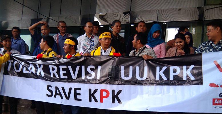 Save KPK/Foto via poskota/Nusantaranews