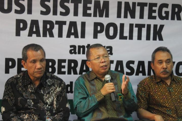 Sekjen PPP Arsul Sani (Tengah)/Foto Andika/Nusantaranews
