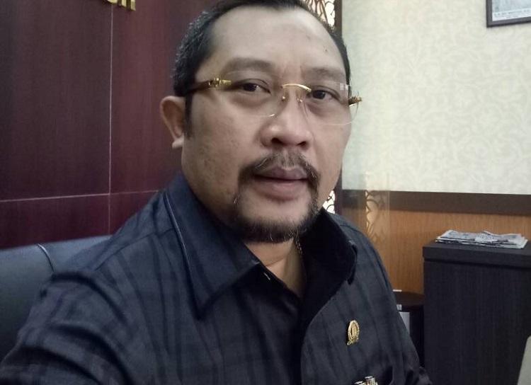 Sekretaris DPD Golkar Jatim, Sahat Tua Simanjuntak/Foto Tri Wahyudi/Nusantaranews