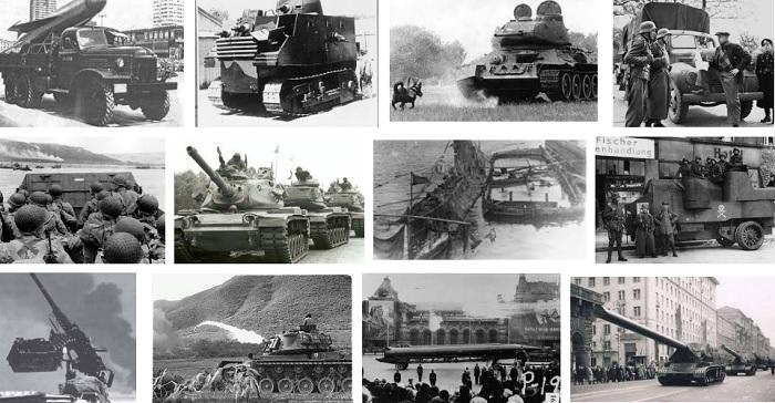 Senjata milik Uni Soviet di masa Perang Dingin. Foto: Crop Google Images/ NusantaraNews