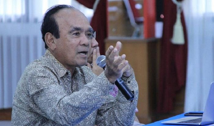 Ketua Pembina Yayasan Pembina Pendidikan Universitas Pancasila (YPPUP) Siswono Yudo Husodo. Foto: Dok. Harian Terbit
