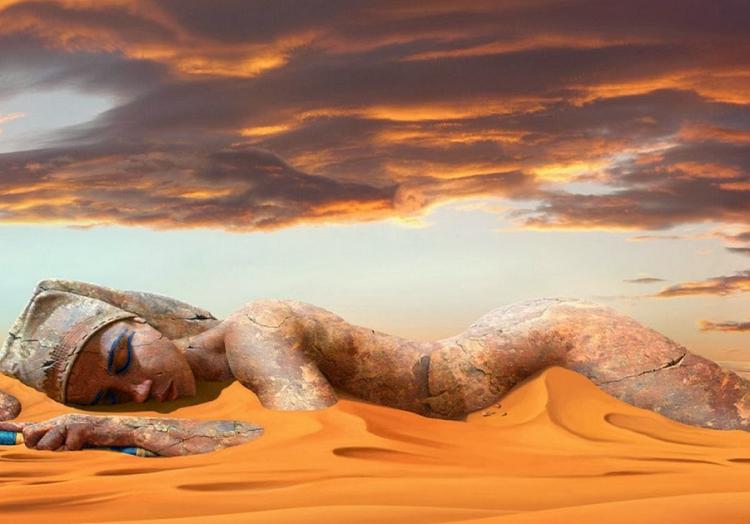 Sleeping pharaoh (Foto: nevseoboi.com)