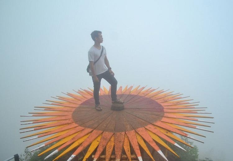 Spot indah di desa Giyombong/Foto Dawam/Nusantaranews