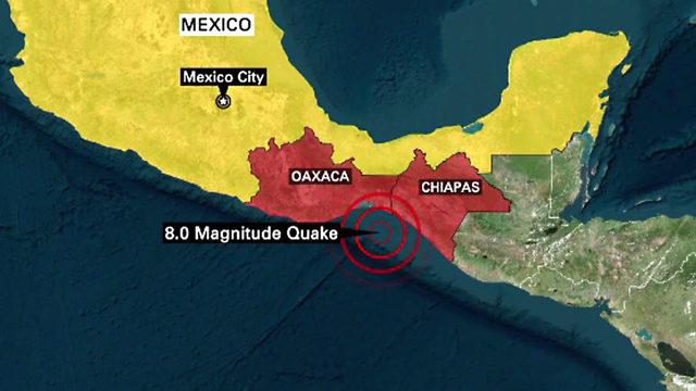 Stunami Meksiko/Ilustrasi/lakana/Nusantaranews