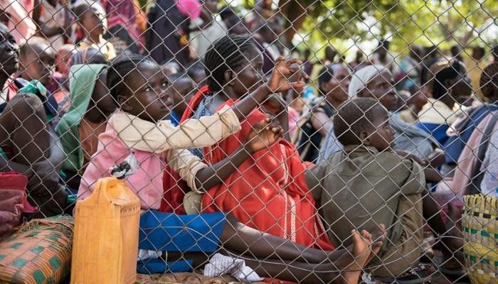 Sedikitnya 1,7 juta orang telah melarikan diri dari Sudan Selatan karena perang. (Getty Images)