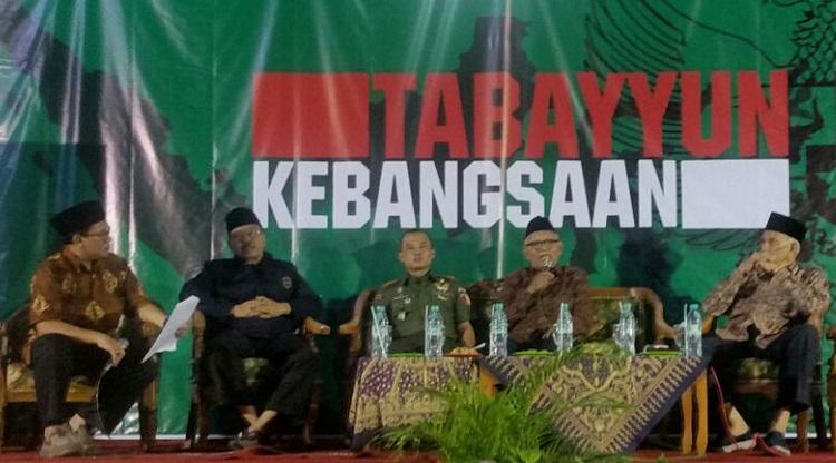 Tabayyun Kebangsaan Bahaya Komunis di Tulungagung . (Foto Dim/Nusantaranews)
