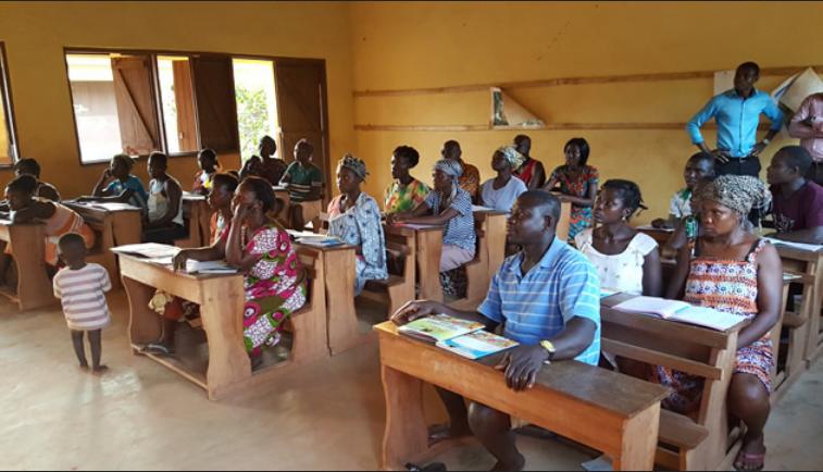 Tingkat Buta Aksara di Ghana/Foto Croup/Net/Nusantaranews