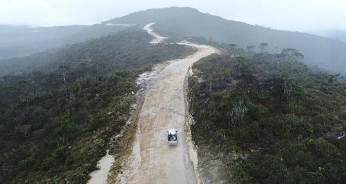 Jalan Trans Papua (Foto: Dok Kementerian PUPR)