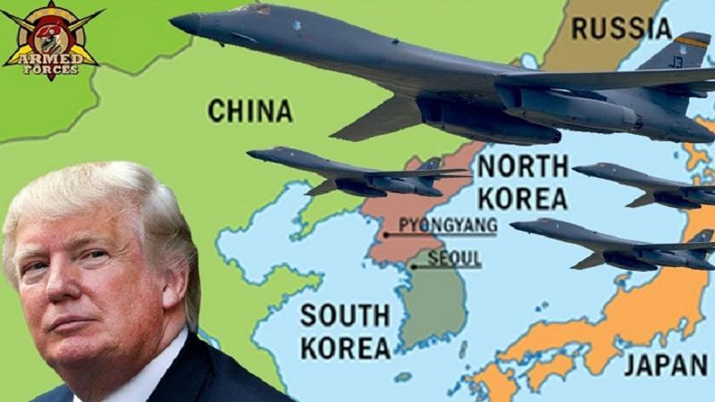 Bombe B-1B dikerahkan Amerika Serikat ke Semenanjung Korea. (Foto: Ilustrasi/YouTube)