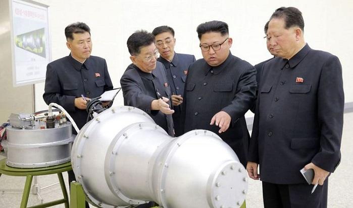 Uji Coba Bom Hidrogen Korea Utara. Foto: Dok. vrt.be