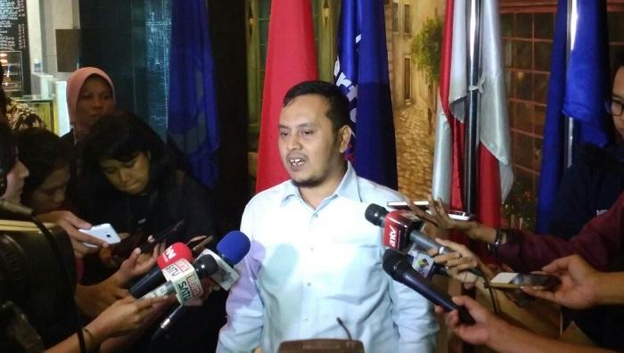 Ketua DPP bidang Informasi dan Komunikasi, Willy Adhitya. Foto Ucok Al Ayubby/ NusantaraNews.co
