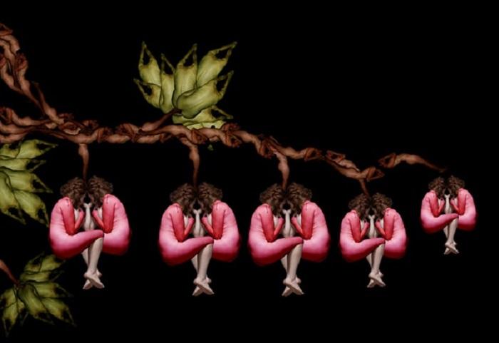 Bleeding Heart. Lukisan: Dok. hongkiat.com