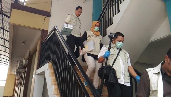 KSOP Kelas I Tanjung Emas Semarang digeledah oleh penyidik KPK, Rabu (6/9/2017). Foto: Istimewa (Detak)