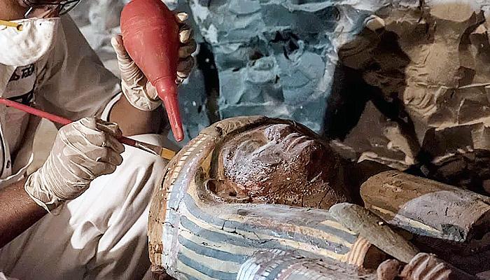 Makam kerajaan berusia 3.500 tahun ditemukan di Mesir.