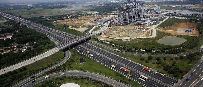 Pembangunan Meikarta. (Foto: Detik)