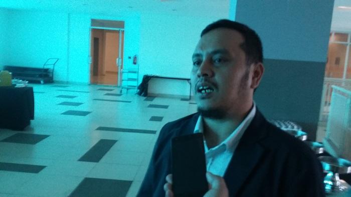 Sekertaris Badan Pemenangan Pemilu Partai Nasdem, Willy Aditya. Foto Ucok Al Ayubby/ NusantaraNews