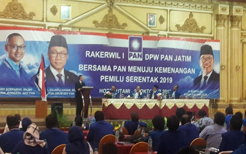 Partai Amanat Nasional (PAN). (Foto: Tri Wahyudi/NusantaraNews)