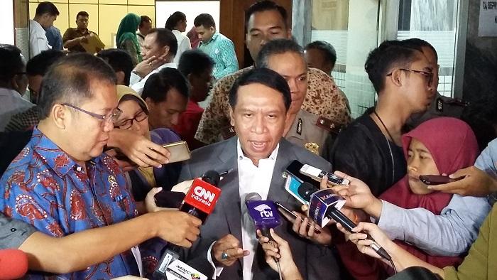 Ketua Komisi II DPR RI, Zainudin Amali. Foto Ucok Al Ayubby/ NusantaraNews