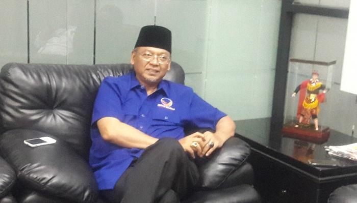 Ketua DPW Partai Nasdem Jatim Rendra Kresna. Foto Tri Wahyudi/ NusantaraNews