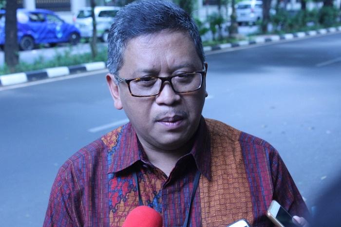 Sekjen PDIP Hasto Kristiyanto. (FOTO: NUSANTARANEWS.CO/RAS)