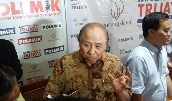 Mantan Wakil Gubernur DKI Jakarta, Prijanto. Foto Ucok Al Ayubbi/ NusantaraNews