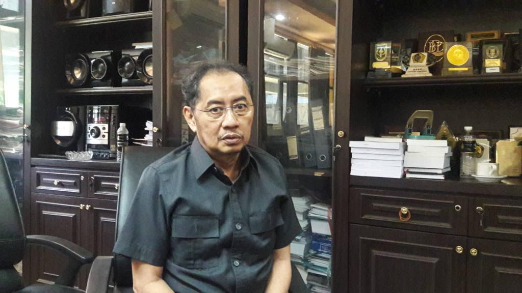 Anggota Komisi C DPRD Jatim, Malik Effendi mengaku sangat kecewa dengan fakta penurunan RAPBD Jawa Timur 2018. (Foto: Yudhie/NusantaraNews)