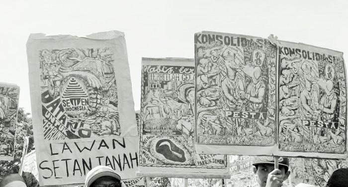 Gerakan Rakyat Harus Kawal Harapan Lahirnya Agenda Besar Ideologis (Ilustrasi). Foto Crop: NNCart/ NusantaraNews
