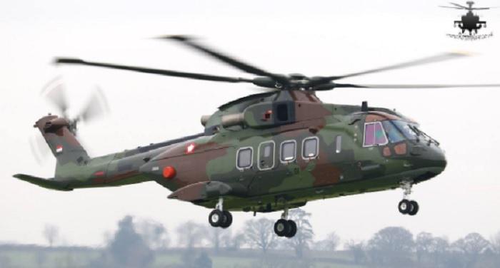 Penampakan helikopter Agusta Westland (AW) 101. Foto: Dok. Rich Pittman