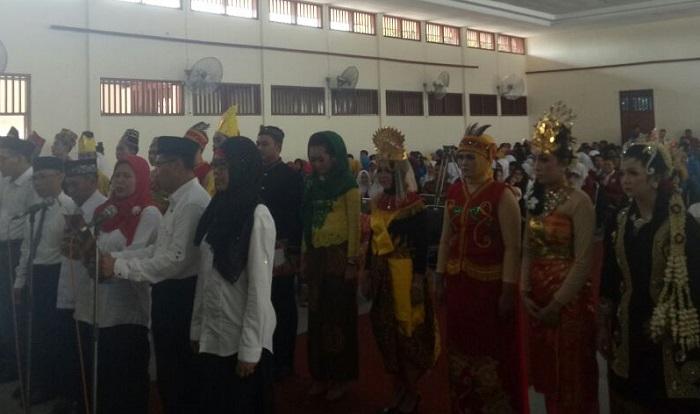 Aksi kebangsaan melawan ekstremisme di Tuban (Foto Istimewa/Nusantaranews)