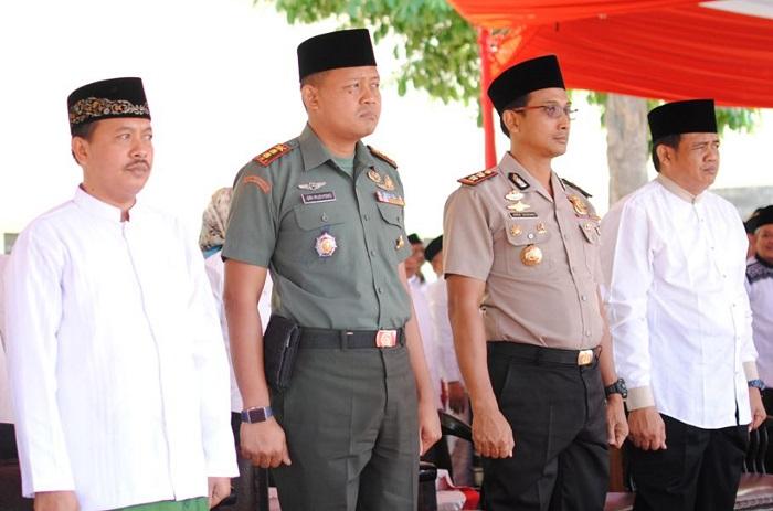 Apel Hari Santri Nasional di Nganjuk (Foto Rantelino/Nusantaranews)