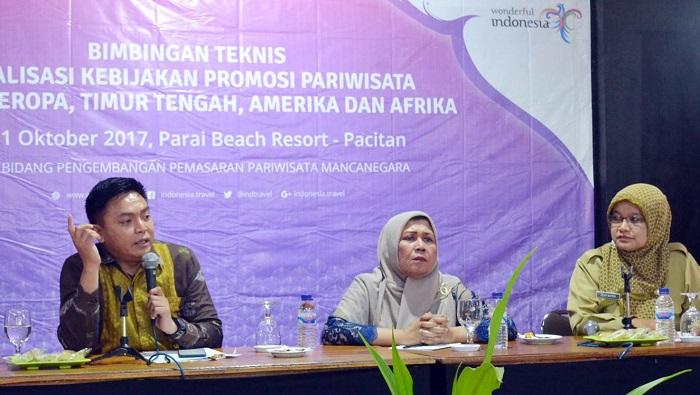 Bimtek Sosialisasi Kebijakan Promosi Pariwisata (Foto Nurcholis/Nusantaranews)