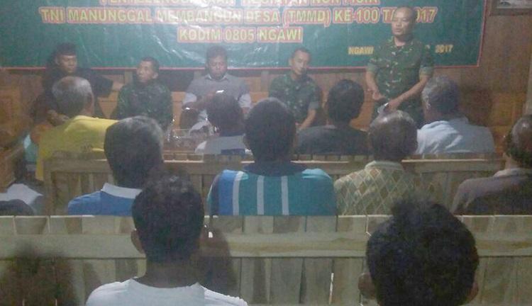 Bintal di TMMD (Foto Istimewa/Nusantaranews)