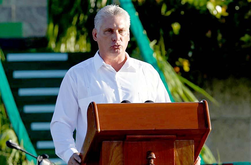 Wakil Presiden Kuba Miguel Diaz-Canel/Foto voanews