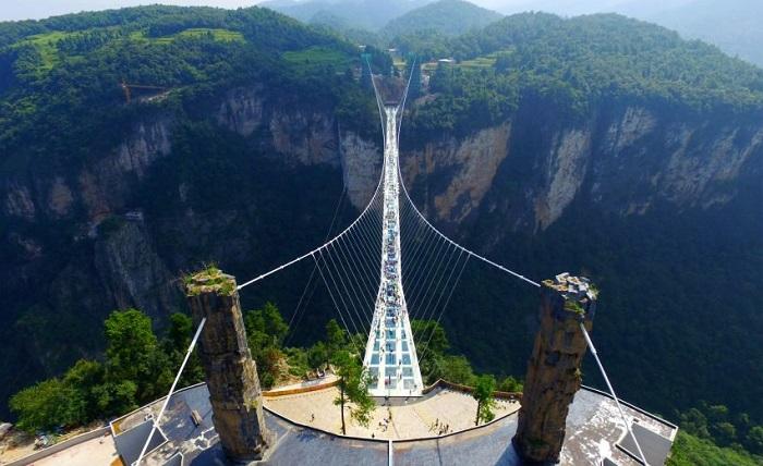 China Zhangjiajie Canyon (Foto dezeen)