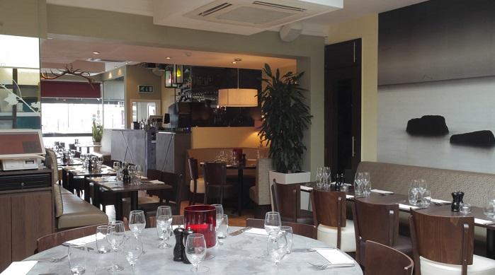 Sebuah restoran Mediterania di Crpydon. Foto: Dok. Istimewa