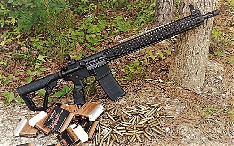 Daniel Defense DDM4, salah satu senjata yang digunakan Stephen Craig Paddock menembaki kerumunan orang di Las Vegas. (Foto: Getty)