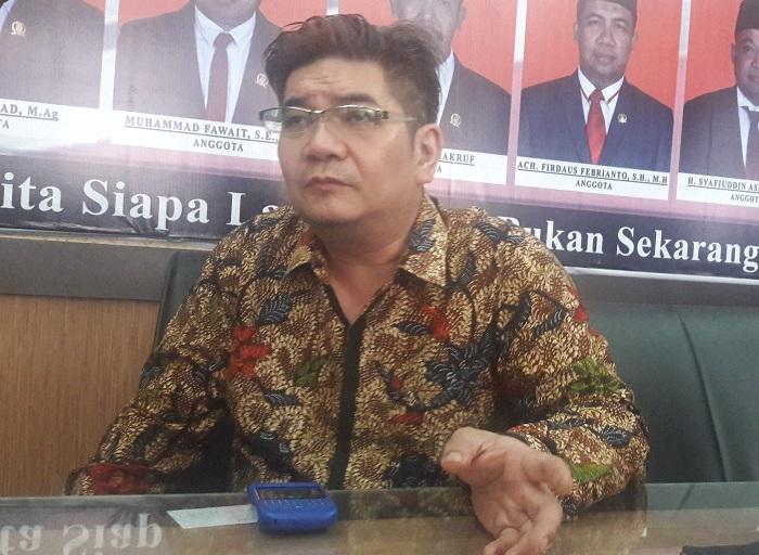 DPRD Jatim Benyamin Kristianto (Foto: Tri Wahyudi/Nusantaranews)