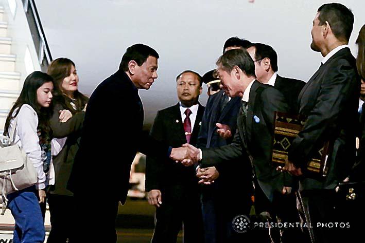Presiden Duterte Melawat Ke Jepang, 9 Milyar Dollar Datang