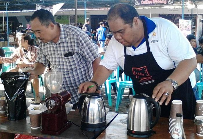 Festival Kopi Temanggung (Foto Ibda/Nusantaranews)