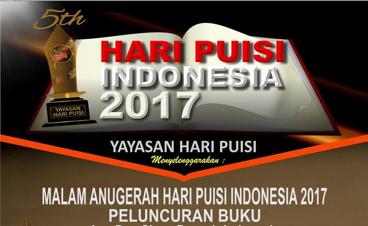 Hari Puisi Indonesia 2017 (Foto Istimewa/Nusantaranews)